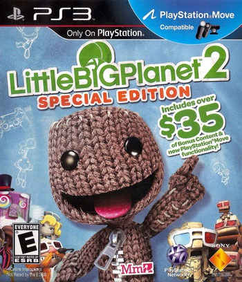 LittleBigPlanet 2 (Special Edition) PS3 coverM (BCUS98372)