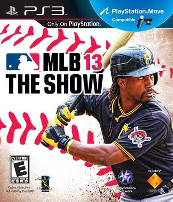 MLB 13 : The Show PS3 coverM (BCUS98473)