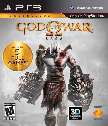 God of War Saga PS3 coverM (BCUS99069)