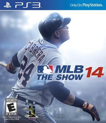MLB 14: The Show PS3 coverM (BCUS99195)