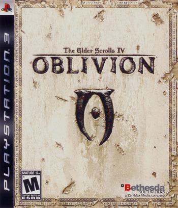 The Elder Scrolls IV: Oblivion PS3 coverM (BLUS30007)