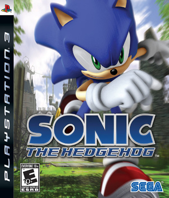 Sonic the Hedgehog PS3 coverM (BLUS30008)