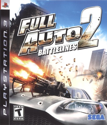 Full Auto 2: Battlelines PS3 coverM (BLUS30009)