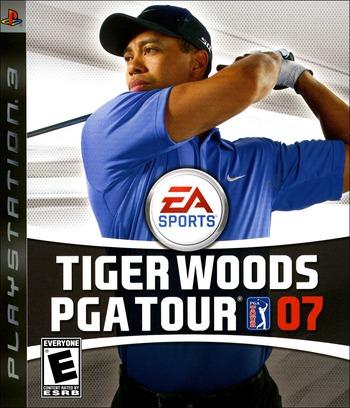 Tiger Woods PGA Tour '07 PS3 coverM (BLUS30013)
