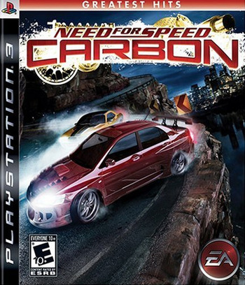 Need for Speed: Carbon PS3 coverM (BLUS30016)