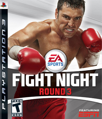 Fight Night: Round 3 PS3 coverM (BLUS30019)