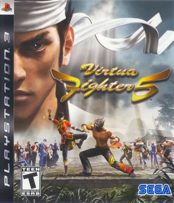 Virtua Fighter 5 PS3 coverM (BLUS30020)