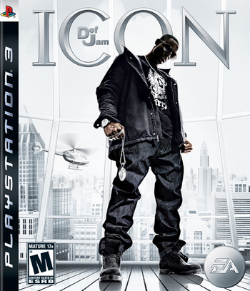 Def Jam: Icon PS3 coverM (BLUS30024)