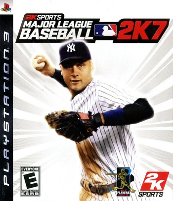 Major League Baseball 2K7 PS3 coverM (BLUS30025)