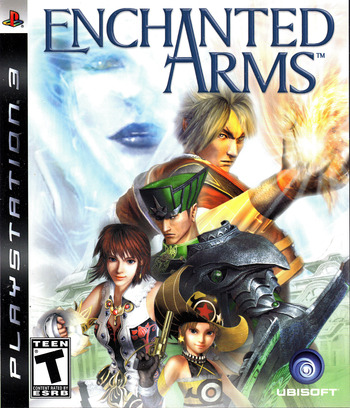 Enchanted Arms PS3 coverM (BLUS30028)