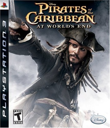 Pirates of the Caribbean: At World's End PS3 coverM (BLUS30029)