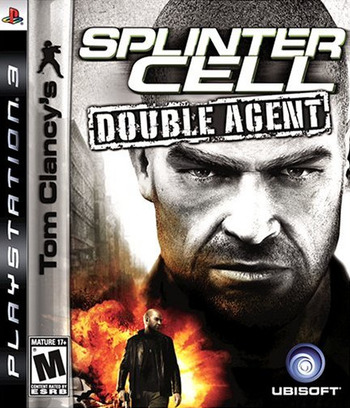 Tom Clancy's Splinter Cell: Double Agent PS3 coverM (BLUS30032)
