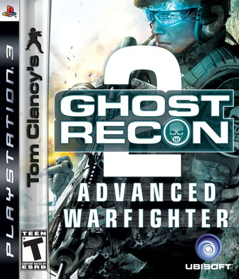 Tom Clancy's Ghost Recon: Advanced Warfighter 2 PS3 coverM (BLUS30034)