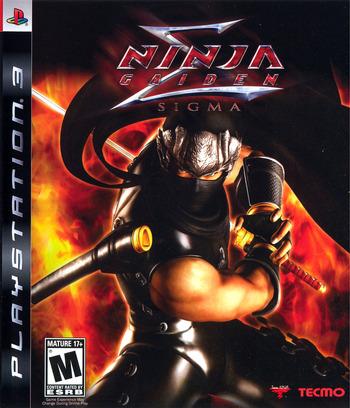 Ninja Gaiden Sigma PS3 coverM (BLUS30036)
