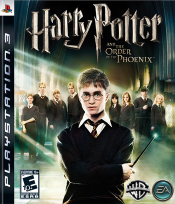 Harry Potter and the Order of the Phoenix PS3 coverM (BLUS30045)