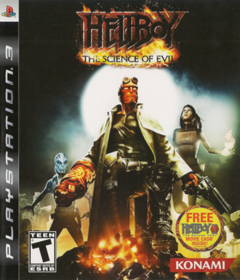 Hellboy: Science of Evil PS3 coverM (BLUS30048)