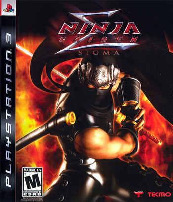 Ninja Gaiden Sigma (Collector's Edition) PS3 coverM (BLUS30051)