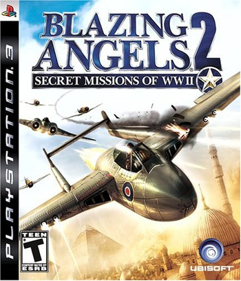 Blazing Angels 2: Secret Missions of WWII PS3 coverM (BLUS30052)
