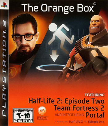 The Orange Box PS3 coverM (BLUS30055)