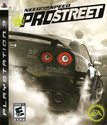 Need for Speed: ProStreet PS3 coverM (BLUS30066)