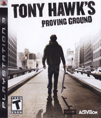 Tony Hawk's Proving Ground PS3 coverM (BLUS30071)