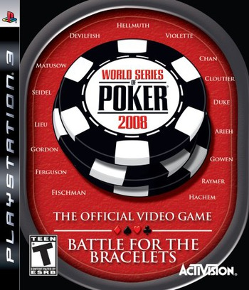World Series of Poker 2008: Battle for the Bracelets PS3 coverM (BLUS30075)