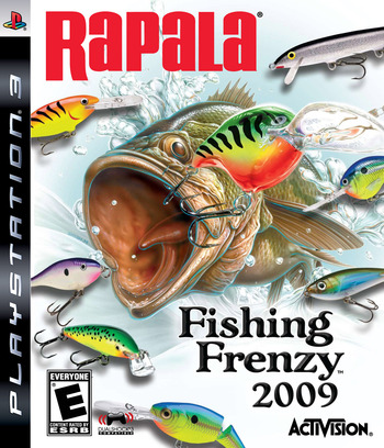 Rapala Fishing Frenzy 2009 PS3 coverM (BLUS30076)