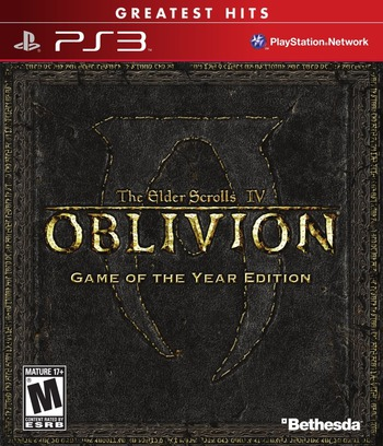 The Elder Scrolls IV: Oblivion (Game of the Year Edition) Array coverM (BLUS30087)