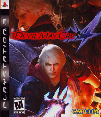 Devil May Cry 4 PS3 coverM (BLUS30092)