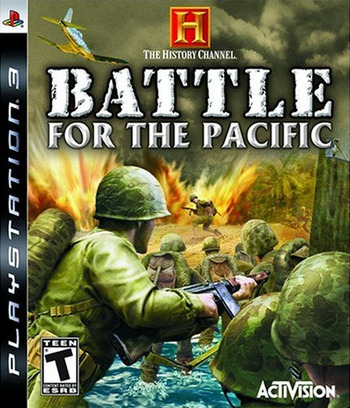 History Channel: Battle for the Pacific PS3 coverM (BLUS30103)