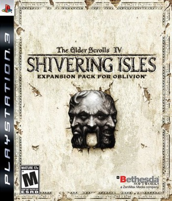 The Elder Scrolls IV: Shivering Isles PS3 coverM (BLUS30106)