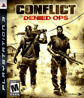 Conflict: Denied Ops PS3 coverM (BLUS30107)