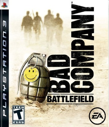 Battlefield: Bad Company PS3 coverM (BLUS30118)