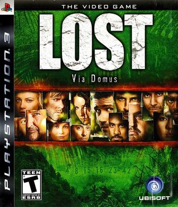 Lost: Via Domus PS3 coverM (BLUS30120)