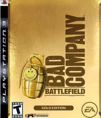 Battlefield: Bad Company (Gold Edition) PS3 coverM (BLUS30121)