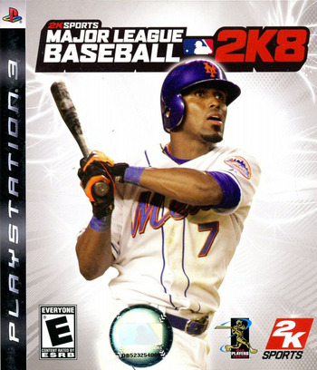 Major League Baseball 2K8 PS3 coverM (BLUS30122)
