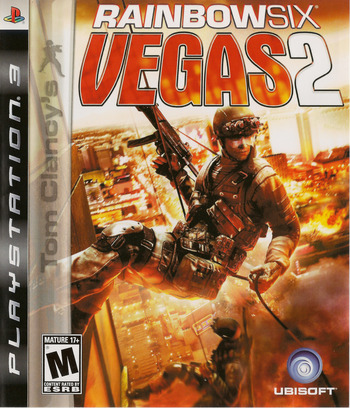 Tom Clancy's Rainbow Six: Vegas 2 PS3 coverM (BLUS30125)