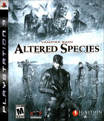 Vampire Rain: Altered Species PS3 coverM (BLUS30126)