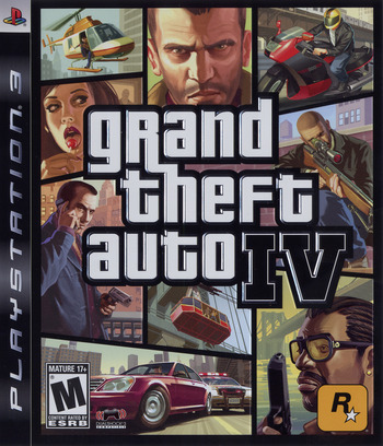 Grand Theft Auto IV PS3 coverM (BLUS30127)