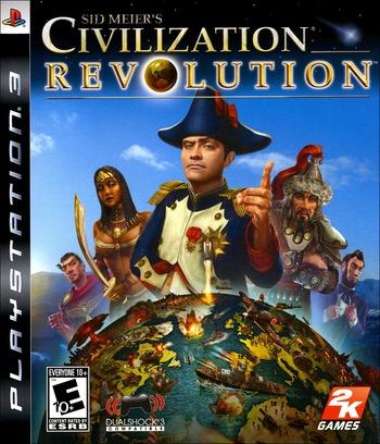 Sid Meier's Civilization Revolution PS3 coverM (BLUS30130)