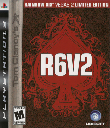 Tom Clancy's Rainbow Six: Vegas 2 (Limited Edition) PS3 coverM (BLUS30131)
