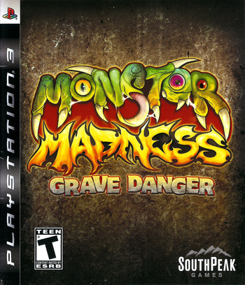 Monster Madness: Grave Danger PS3 coverM (BLUS30140)