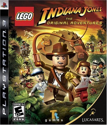 LEGO Indiana Jones: The Original Adventures PS3 coverM (BLUS30141)