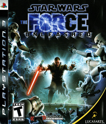 Star Wars: The Force Unleashed PS3 coverM (BLUS30144)