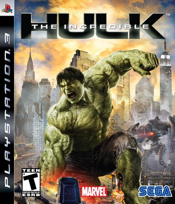 The Incredible Hulk PS3 coverM (BLUS30152)