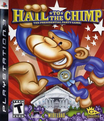 Hail to the Chimp PS3 coverM (BLUS30153)