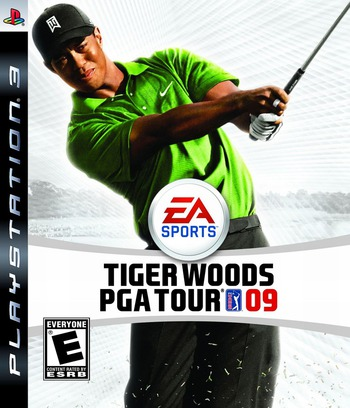 Tiger Woods PGA Tour '09 Array coverM (BLUS30159)