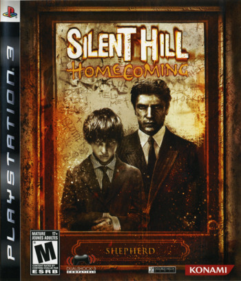 Silent Hill: Homecoming PS3 coverM (BLUS30169)