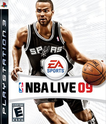 NBA Live '09 PS3 coverM (BLUS30173)