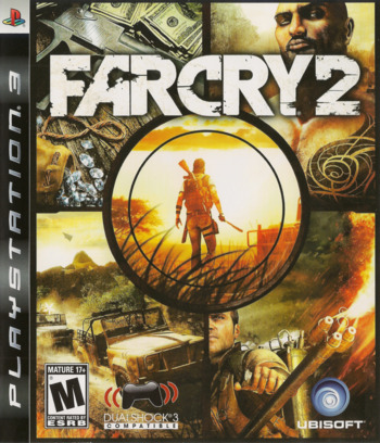 Far Cry 2 PS3 coverM (BLUS30178)